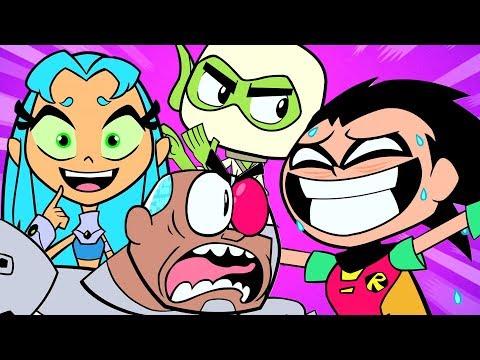 Xxx Mp4 🔴 Teen Titans Go Best Moments Amp Funny Compilation DC Kids 3gp Sex