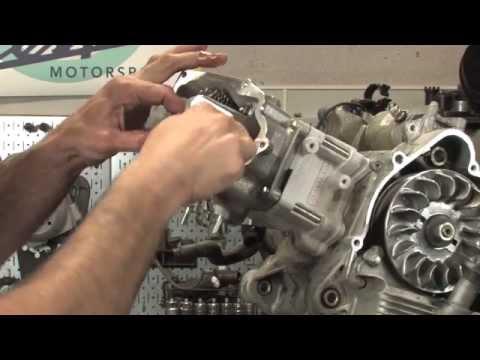 Vespa GTS Malossi Cylinder Kit Installation