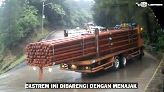 5 Jalur Ekstrim di Indonesia dengan tikungan Tajam