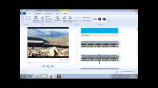 How to make a video in windows live move maker: in Bangla.
