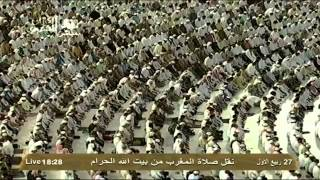 صلاة المغرب 27-3-1434هـ للشيخ ماهر المعيقلي -