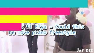 R2bees ft Efya- Could this be love (piano freestyle)