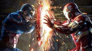 Kaptan Amerika Vs Demir Adam | Dövüş Sahnesi