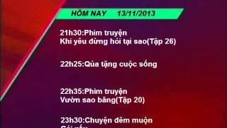 VTV3 GTCT(18h55 ngày 13/11/2013)(mô phỏng)