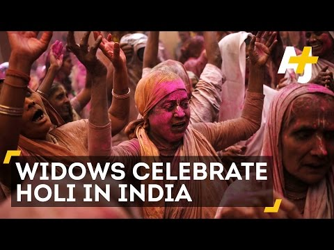 Widows In India Celebrate Holi, The Festival Of Colors