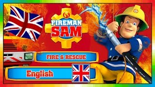 FIREMAN SAM - ENGLISH - 2016 - Fire & Rescue ( the new game & song & episodes scenes - short movie )
