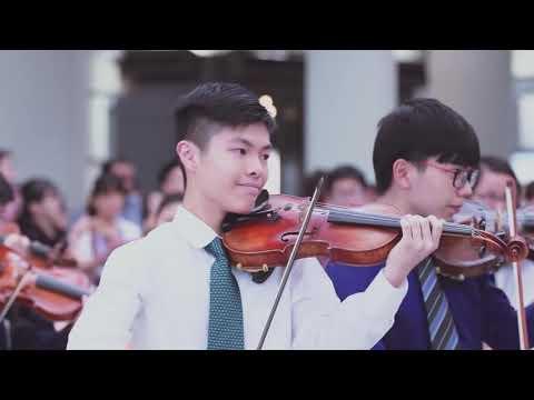 香港青少年管弦樂團 MYO 2016 Airport Flash mob Performance Official