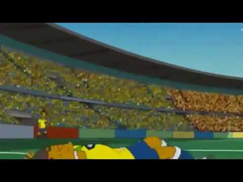 The Simpsons - NEYMAR dive (El Divo) 2018 Russia World Cup