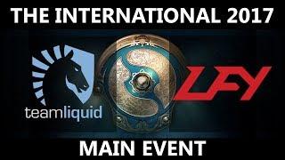 🔴[MUST SEE] Team Liquid vs LFY GAME 1, The International 2017, LFY vs Team Liquid