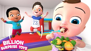 Five Little Babies | Vegetables Song | BST Kids Songs & Nursery Rhymes