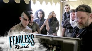 """Motionless In White - Behind the Scenes of """"America"""""""