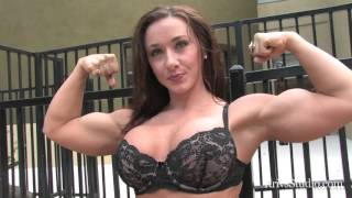 Erica Cordie Sexy Muscle Biceps