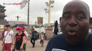 Arsenal's Red Army, Moves From Shanghai to Beijing! | AFTV In China Vlog
