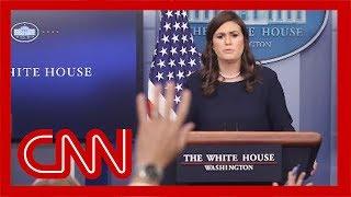 Trump tweets that Sarah Sanders is leaving White House