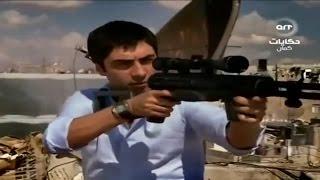 مراد علمدار يقتل القناص في سوريا و يدفنه من وادي الذئاب الجزء 2 الحلقة 58