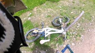 Bike into electric fence 1.15