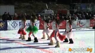 Cheerleaders in Bansko