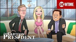 Trump Watches TV News | Our Cartoon President | Stephen Colbert SHOWTIME Series