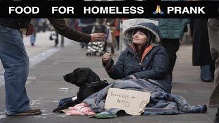 Food for Homeless Magic Prank 🙏- Julien Magic