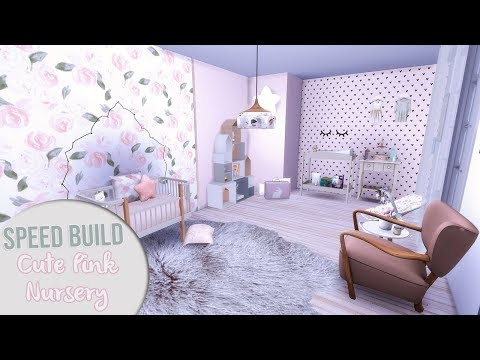 Xxx Mp4 The Sims 4 Speed Build CUTE PINK NURSERY CC Links 3gp Sex