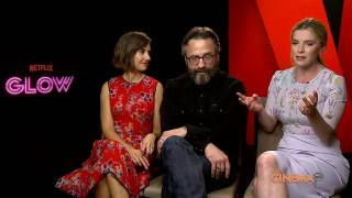Alison Brie, Betty Gilpin and Marc Maron talk Netflix