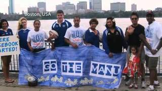 "MANU SAMOA FANS UNITE ""GO THE MANU"" - RWC TRIBUTE VIDEO 2011"