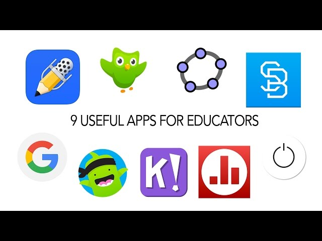 9 Useful Apps for Educators