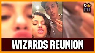 Selena Gomez WANTS a WIZARDS OF WAVERLY PLACE Reunion | Instagram Story 1/7/17