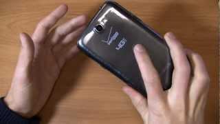 Verizon Samsung Galaxy Note II Unboxing