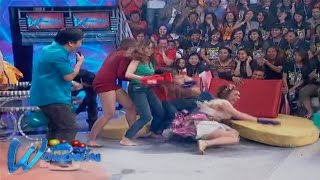 Wowowin: 'Wowowin' hosts tries 'Putukan Na'