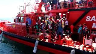 Simulacro Salvamento buque químico Huelva