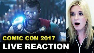 Thor Ragnarok Comic Con Trailer REACTION