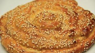 Tahinli Çörek Tarifi - Pastane Usulü Susamlı Şekerli Tatlı Çörek