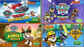 Air Patrollers Mission PAW Jungle Rescue PAW Patrol Nick Jr Games