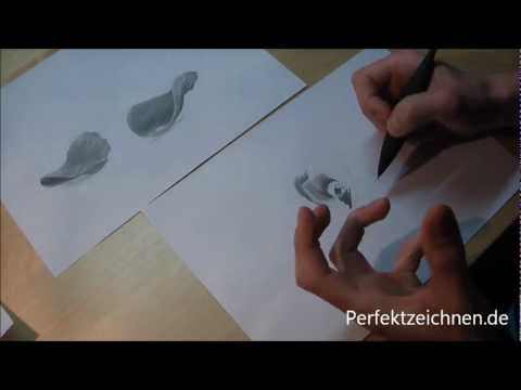 Das perfekte Geschenk Rosenblätter für deine Freundin zeichnen lernen