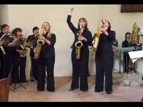 Nessun Dorma - the three tenors (saxophones!)