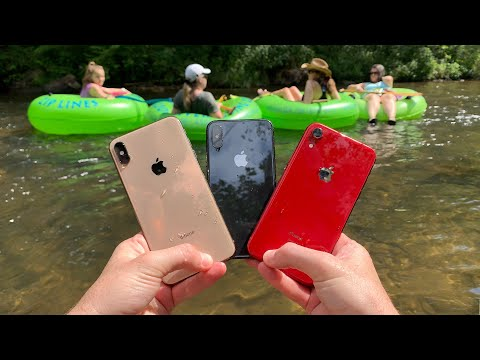 I Found 3 iPhone X s Underwater in the River at Waterpark Returned to Owners