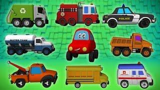 kids Street Vehicles | Vehicles For Kids | 3D videos