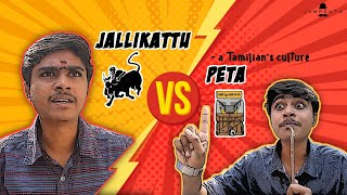 Jallikattu vs Peta - a Tamilian