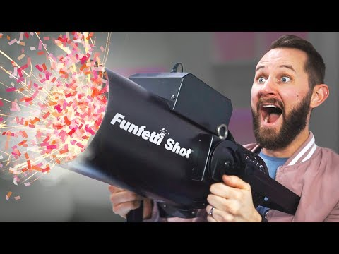 Xxx Mp4 Confetti Cannon In The Office 10 Party Products 3gp Sex