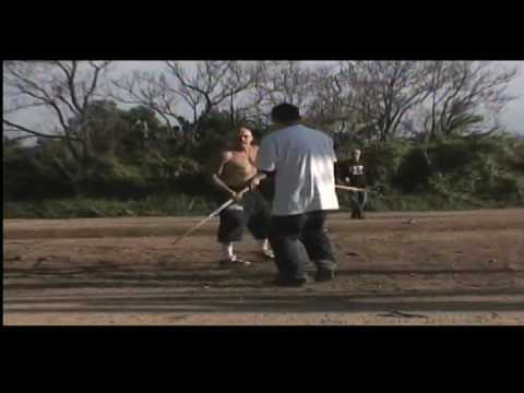 FELONY FIGHTS 6.6 WHITE SKINHEAD vs. Karate Kid eats his face