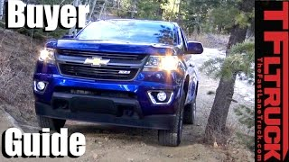 2017 Chevy Colorado & GMC Canyon Buyer Guide: Helping You Pick the Right Mid-Sized GM Truck