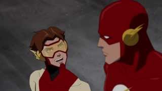 The Flash and Impulse talking really fast