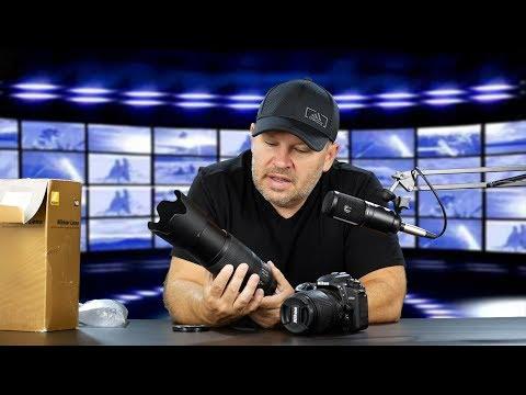 Nikon 70-300mm VR Lens w D7500 Unboxing & Initial Impressions
