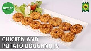 Chicken and Potato Doughnuts | Evening With Shireen |  Shireen Anwar | Dessert