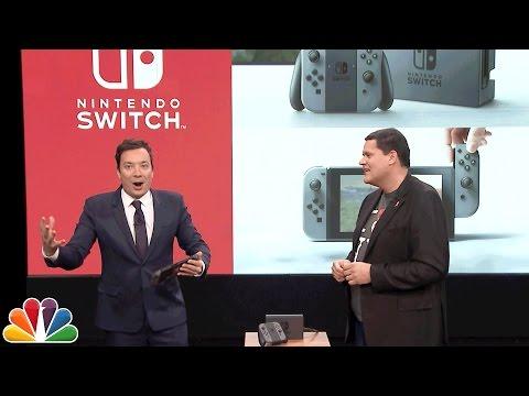Xxx Mp4 Jimmy Fallon Debuts The Nintendo Switch 3gp Sex
