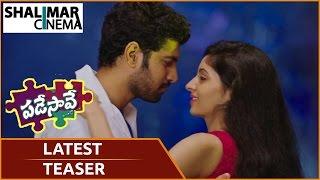 Padesave Telugu Movie Trailer | Karthik Raju, Nithya Shetty | Chuniya