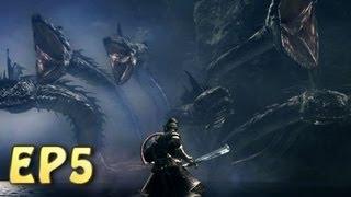 Dark Souls Walkthrough - Taking Havel's Ring & Killing the Hydra - Darkroot Basin (EP5)