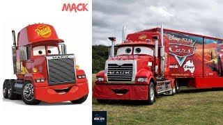 Cars 3 Real Life Characters - Disney Cars 3 In Real Life