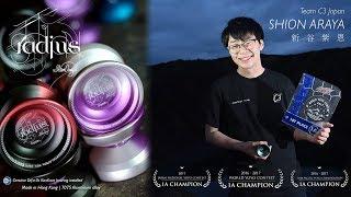 C3yoyodesign Presents: 2X World Yoyo Champion - Shion Araya